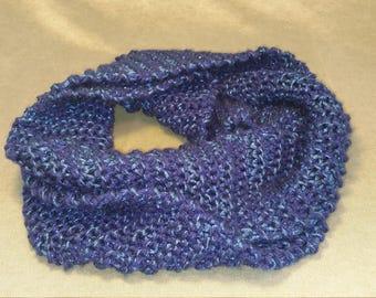 Stunning bue metallic scarf