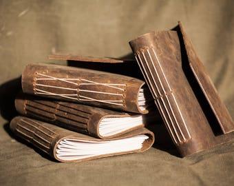 Handmade Leather Journal - Small