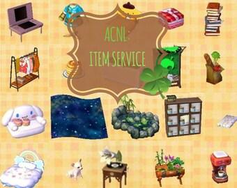 Animal Crossing New Leaf: Item Service