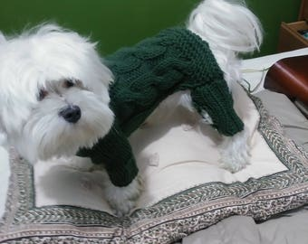 Smoll dog sweater, dog jacket, dog clothes, sweater para perro smoll