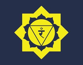Solar Plexus Chakra T-shirt, Women's