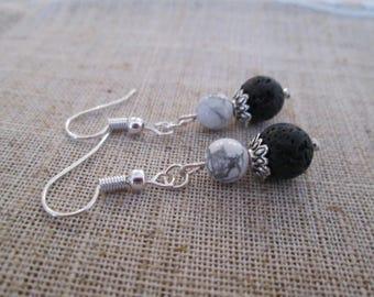 Aromatherapy Healing Bead Earrings
