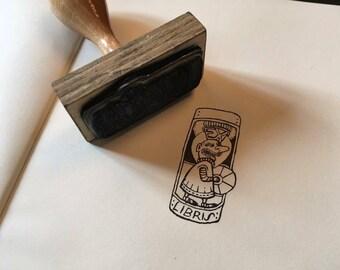 Ex Libris Stamp