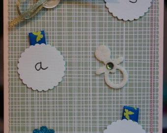 Handmade Card It's A Boy