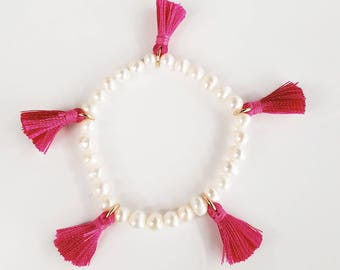 Pearl bracelet/pearl bracelet/Bracelet des perles