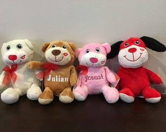 Personalized Valentines Plush