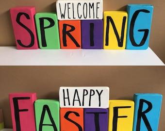 Reversible Spring/Easter Decorative Sign
