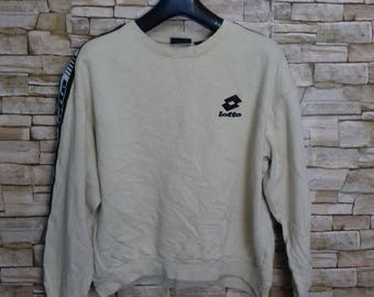 Lotto sweatshirt crewneck jumper large size