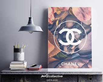 Chanel Flow. Instant Printable Poster