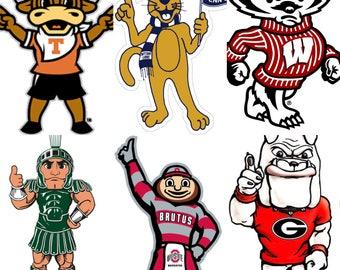 Custom College Mascots in ASL