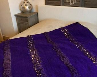 Purple Handira carpet
