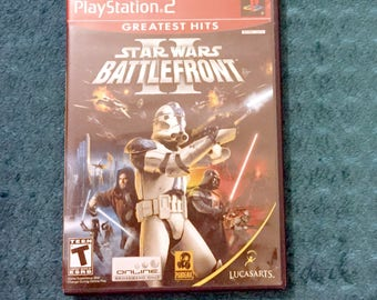 Star Wars Battlefront 2 for Retro ps2 console