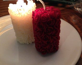 Love candles set of two
