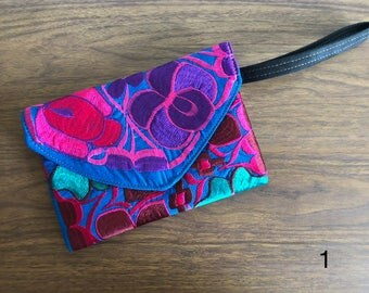 clutch handmade bag