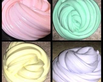 Pastel Easter Slime, Easter Basket Stuffer, Glossy Slime