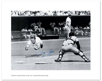 Pete Rose Diving