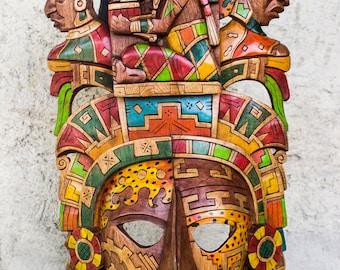 The Sun God mask