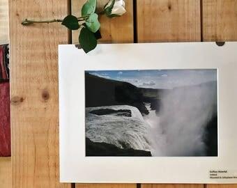Gullfoss Waterfall, Iceland - Photograph