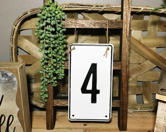 FARMHOUSE RUSTIC  Wood. Pallet Wood. Mini Display Ladder. Kitchen towel. Bathroom hand towel. Mini home decor. Tea Towel Ladder.