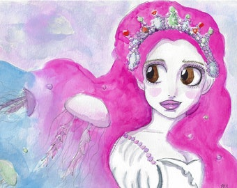 Tsukimi - Princess Jellyfish Print
