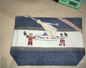 Small denim purse pattern