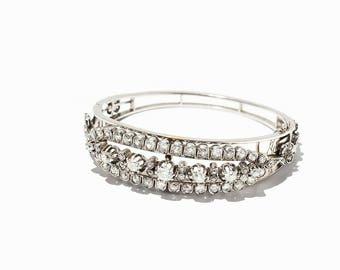 Bracelet with 77 diamonds c.1880