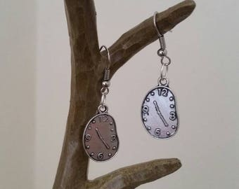 Time piece earings