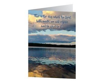Birthday Card - Psalm 118:24 KJV