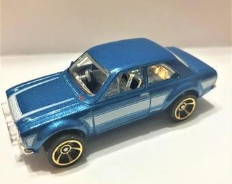 Fridge Magnet:Blue '70 Ford Escort RS1600 (Fast & Furious) Hot Wheels®