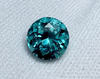 1.65 Carates Very Beautiful Faceted Amazing Paraiba Color Blue Tourmaline with Beautiful Luster From Afghanistan.