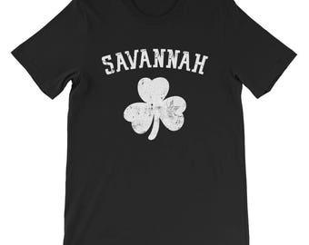 Savannah Shamrock St. Patrick's Day Tshirt