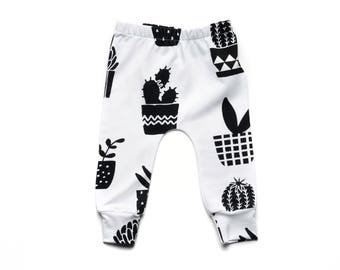 Black and White Leggings