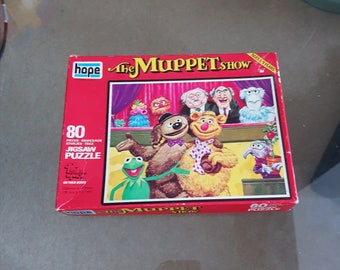 Vintage 'The Muppet Show' Jigsaw puzzle -Complete