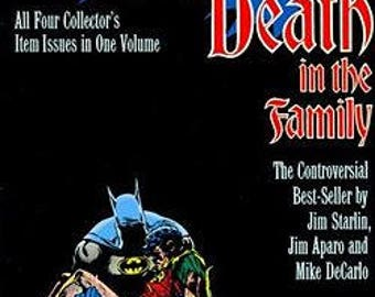 Batman: A Death In The Family - first printing graphic novel NM