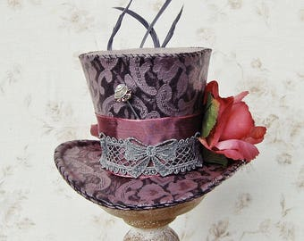 Mini top hat 'Purple Haze'