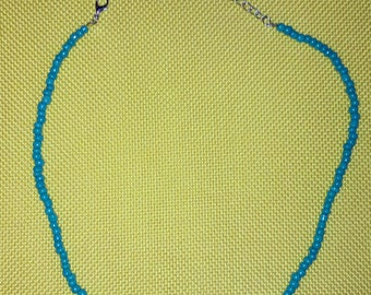Blue Beaded Necklaces