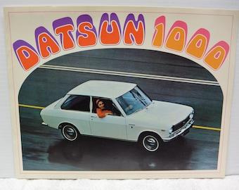 Datsun 1000 - brochure 1969