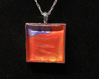 Fire and Water Pendant