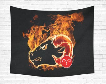 "Aries Wall Tapestry 60""x 51"" (2 colors)"