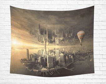 "Parallel Worlds Wall Tapestry 60""x 51"""