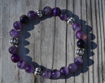 Purple Amethyst Agate