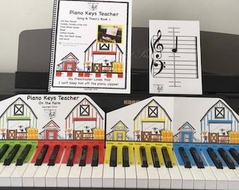 Piano Keys Teacher Combo