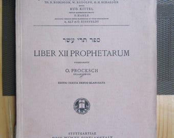Biblia HEBRAICA Jew Jewish History Hebrew Book y 1933
