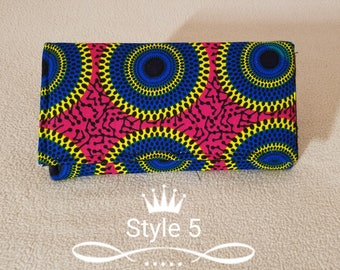 Ankara wallet/African print wallet/Ankara purse/Afrocentric purse