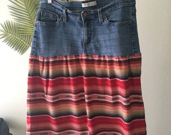 Levi's Skirt Upcycle