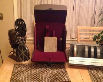 Vintage Bell and Howell 16mm Silent Projector