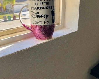 Disney Glitter Mug