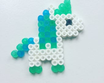 Unicorn in hama beads