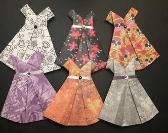 3 Origami Dresses