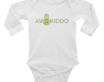 AVOKIDDO- Infant Long Sleeve Bodysuit